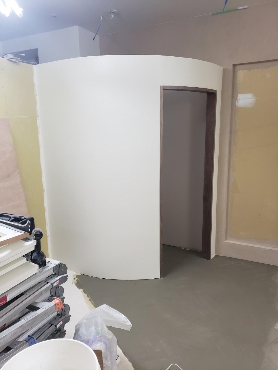 アパレルの内装工事