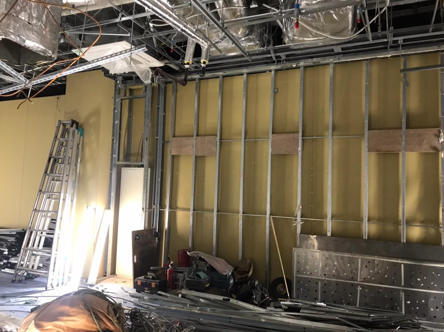 ベーカリー大森店解体工事。