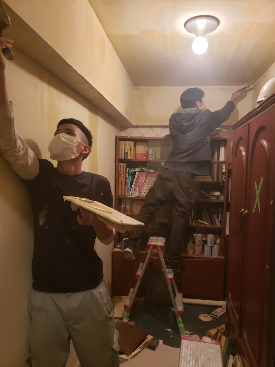 都心のマンション内装工事