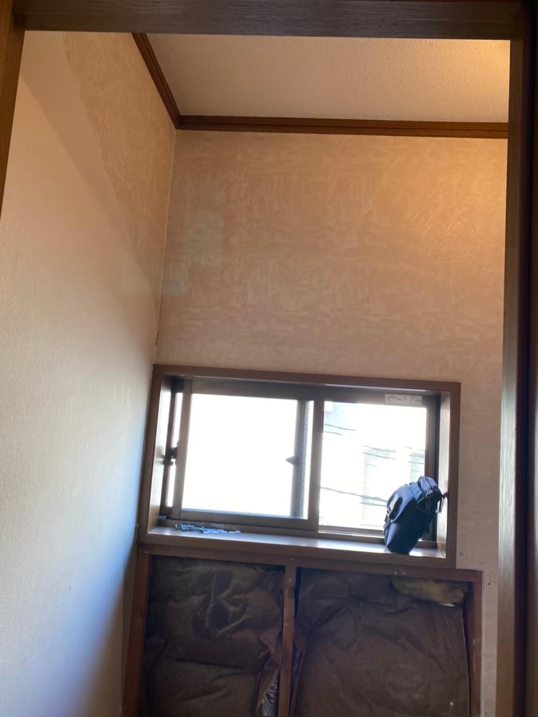 水廻り壁、床貼り換え工事
