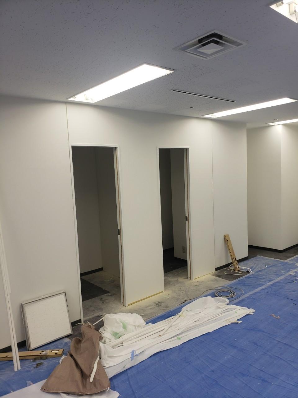 渋谷区ビルテナント内装工事5