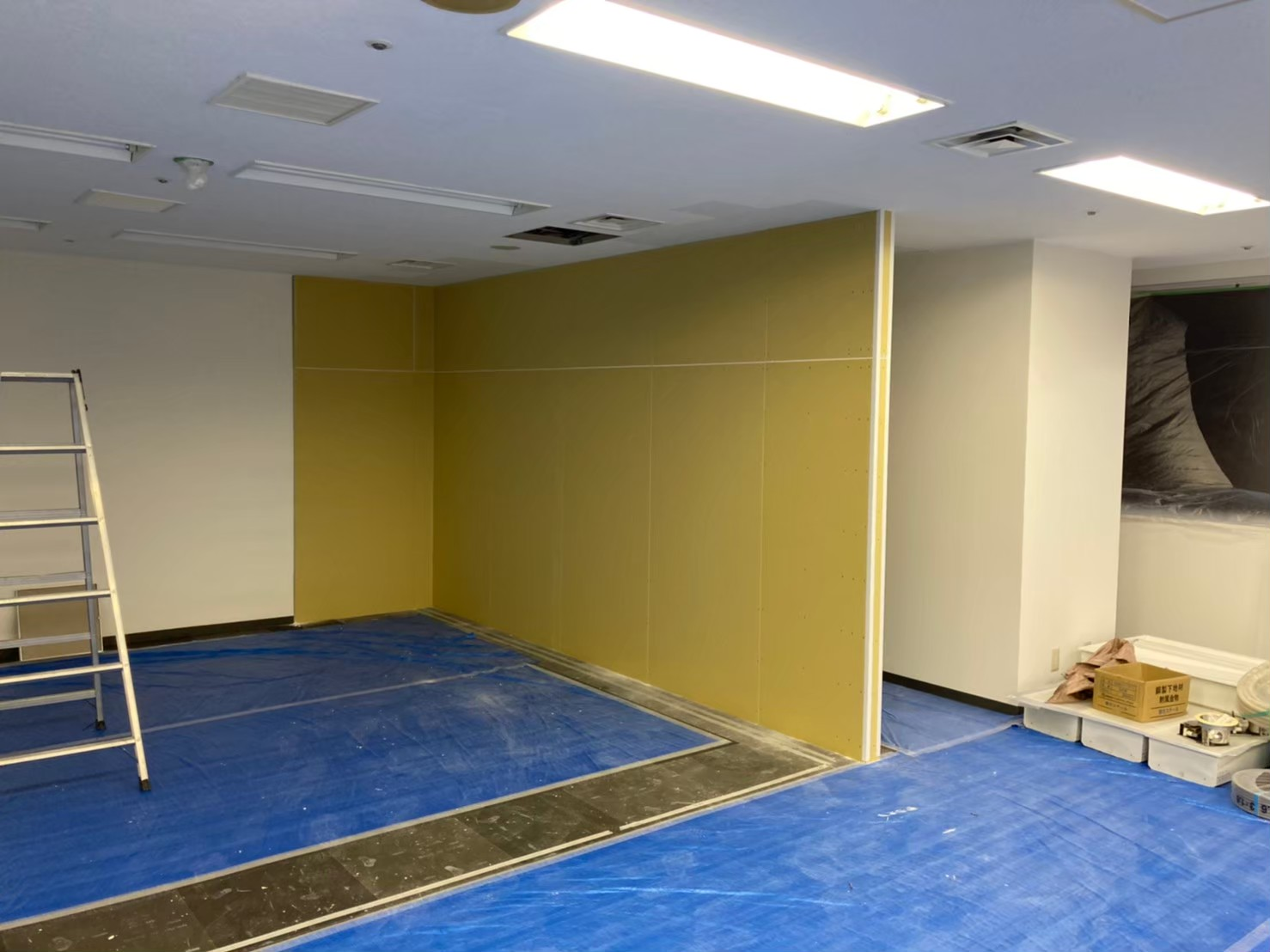 渋谷区ビルテナント内装工事2