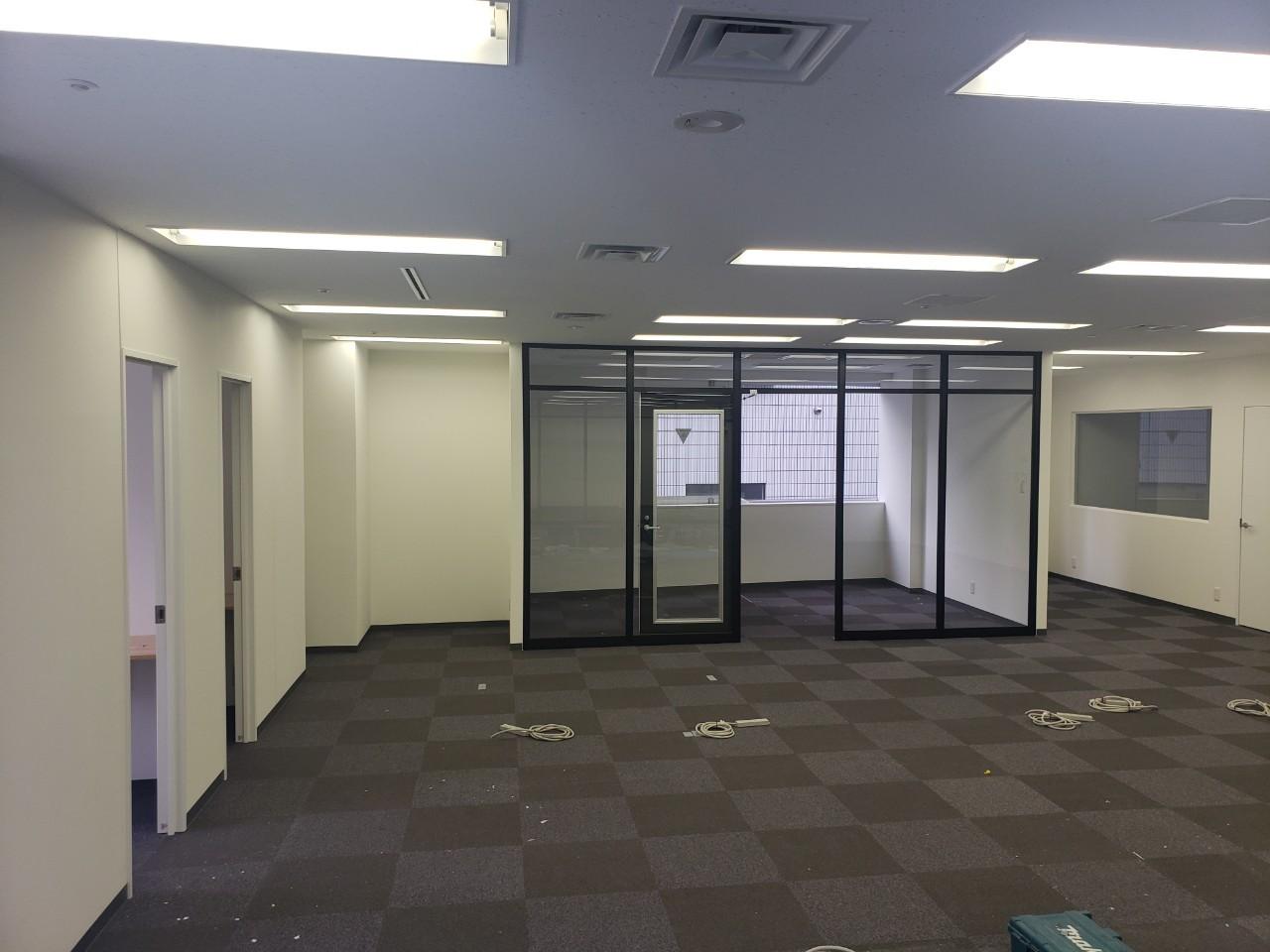 渋谷区ビルテナント内装工事4