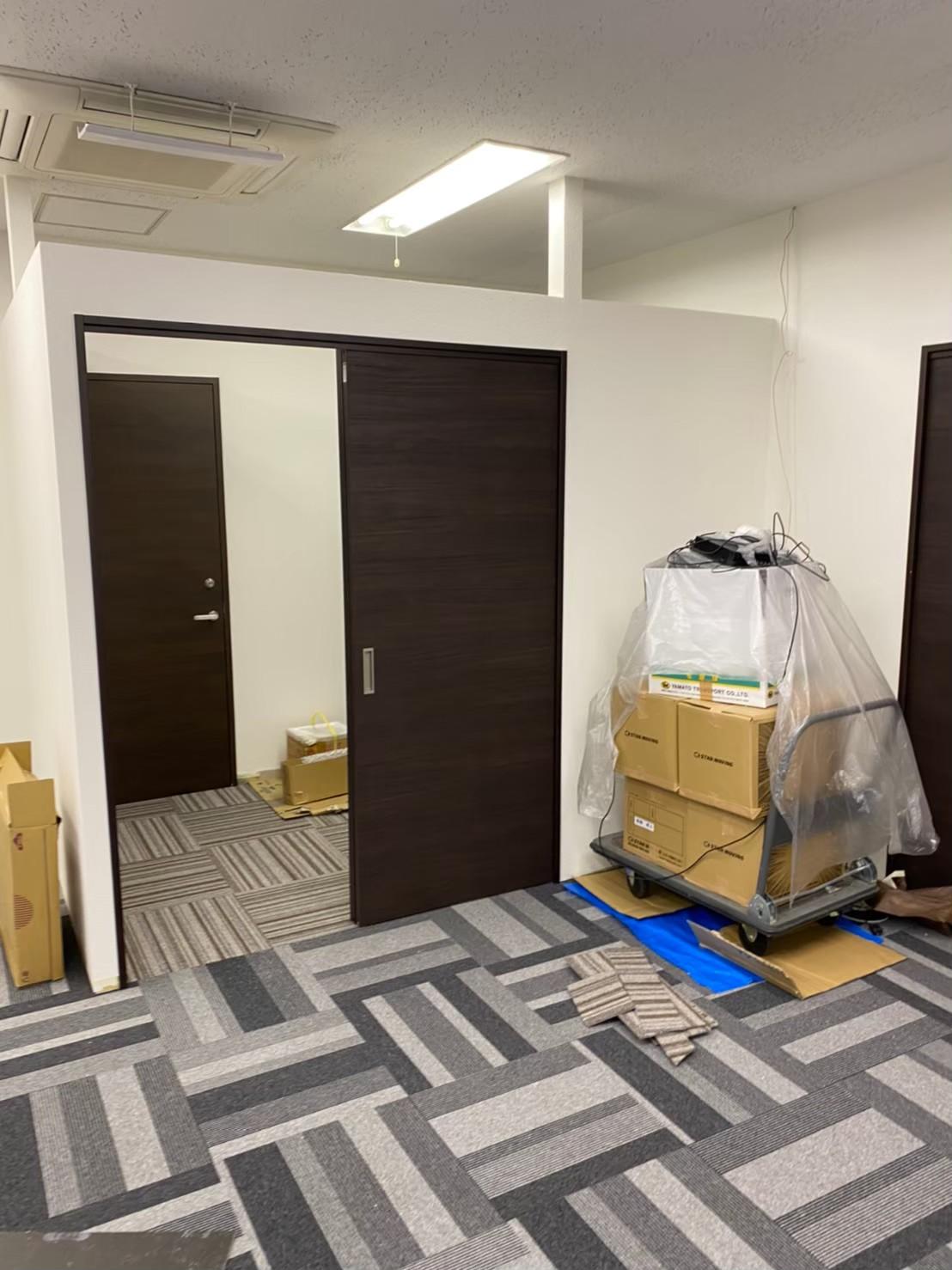 新宿オフィス内装工事3