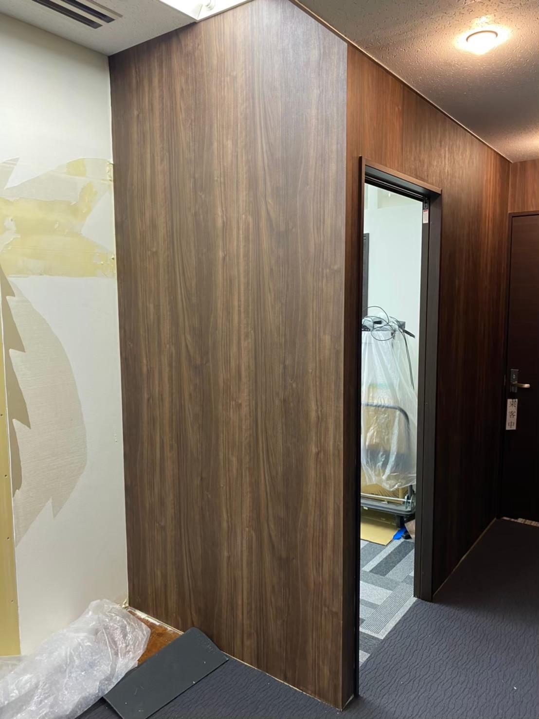 新宿オフィス内装工事4