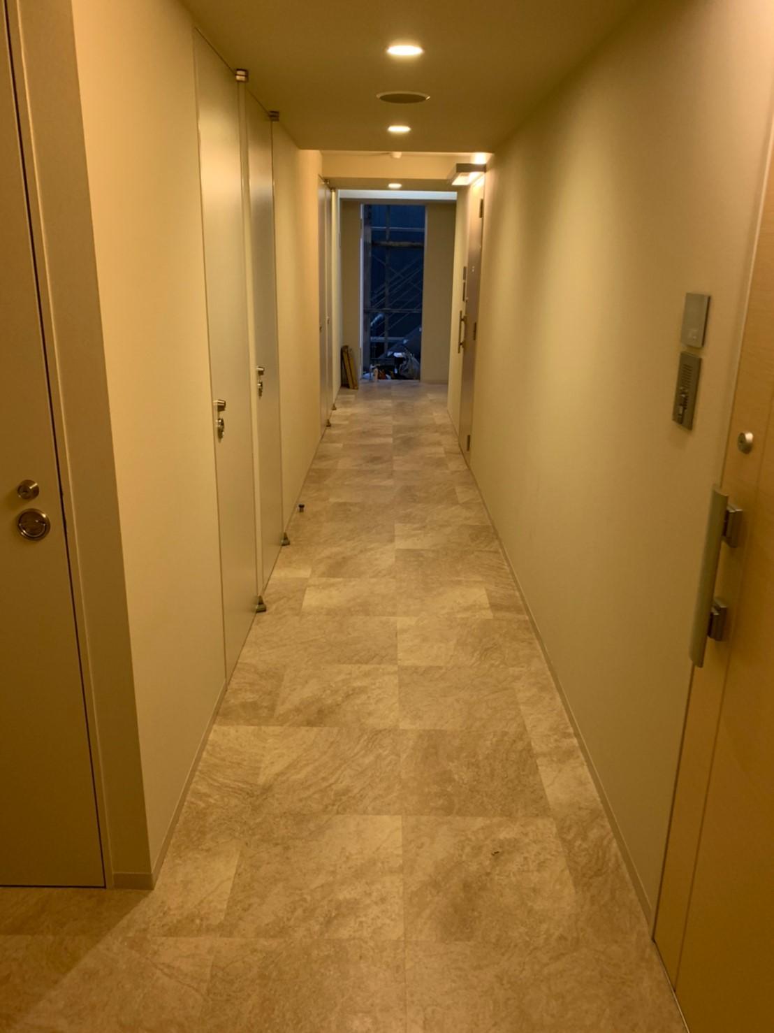 都内アパートの内装工事