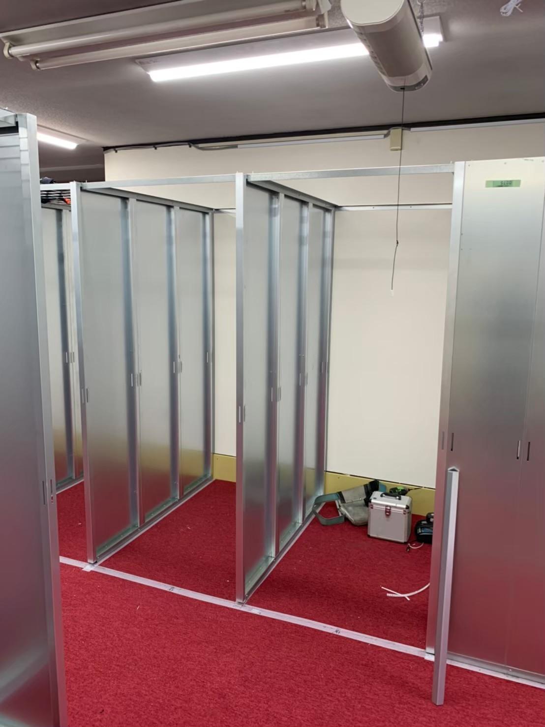 東京都台東区トランクルーム新設工事