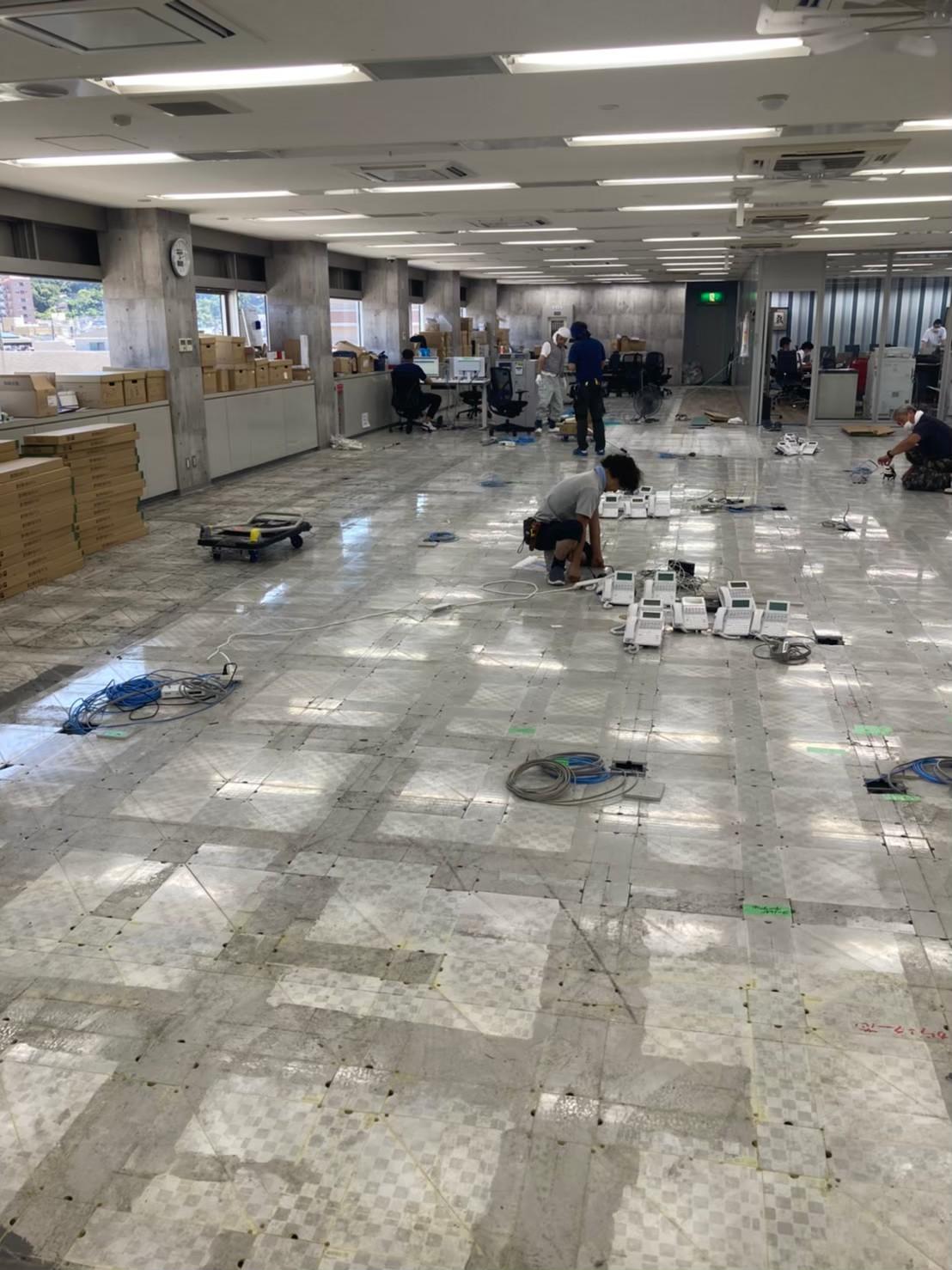 横須賀オフィス内装工事2。