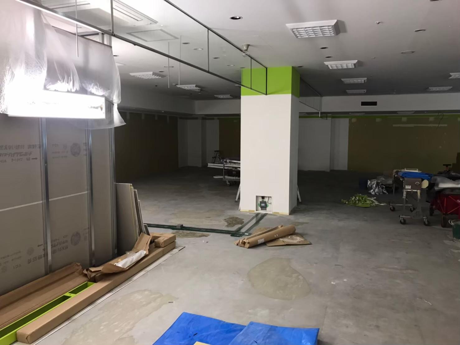 町田市の床の補修