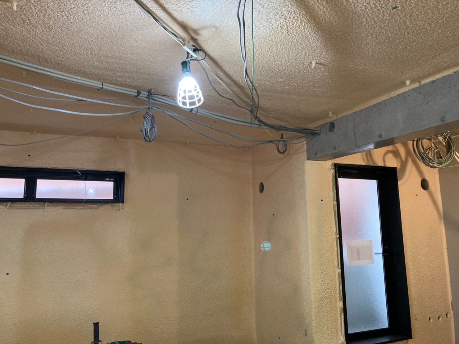 鎌倉診療所内装工事。