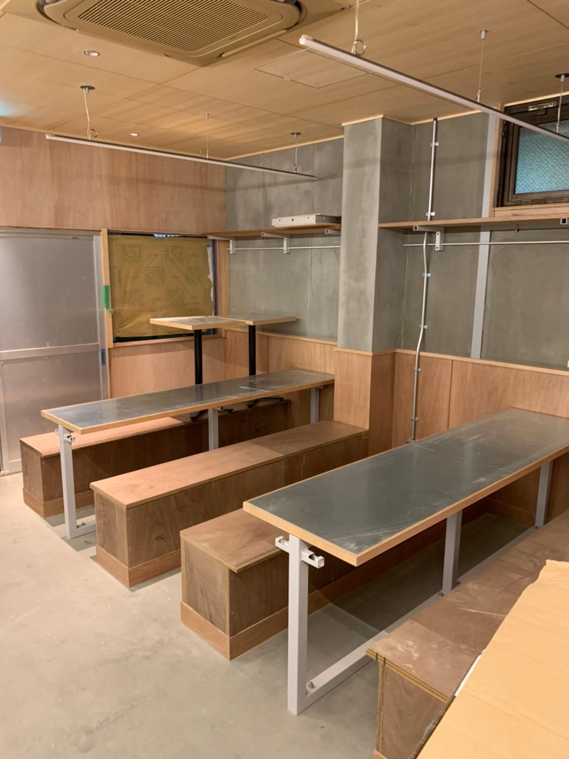 都内飲食店の内装工事