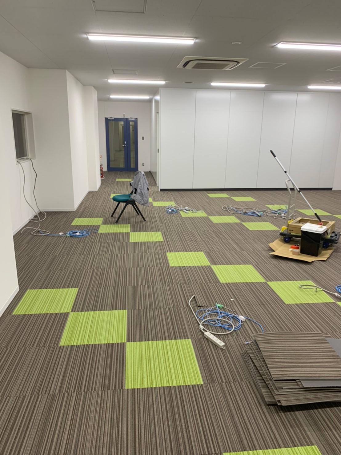 野田市のオフィス内装工事
