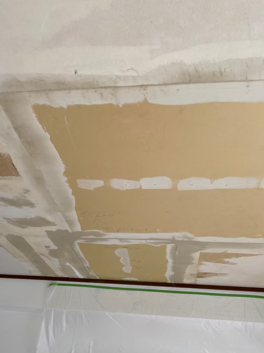 港区の天井・床補修工事