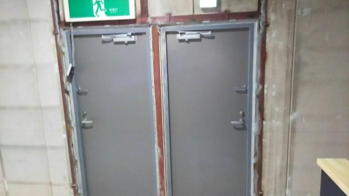 自動ドア新設工事
